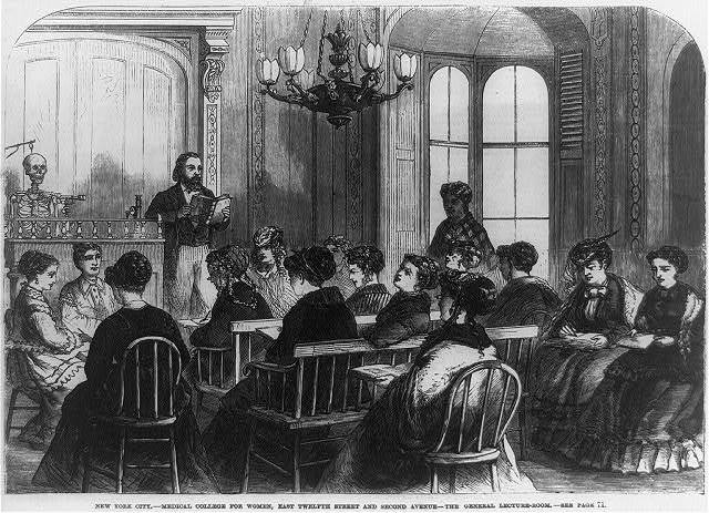 New York City - Medical College for Women, East Twelfth Street and Second Avenue - the General Lecture Room