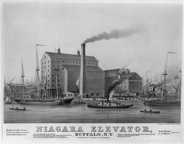 Niagara elevator, Buffalo, N.Y. / Sage, Sons & Co. Lith. Print'g and Man'fg Co., Buffalo, N.Y.