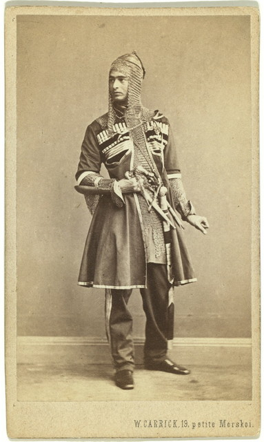 Officer of Sesghian(?) Regt, St. Petersburg