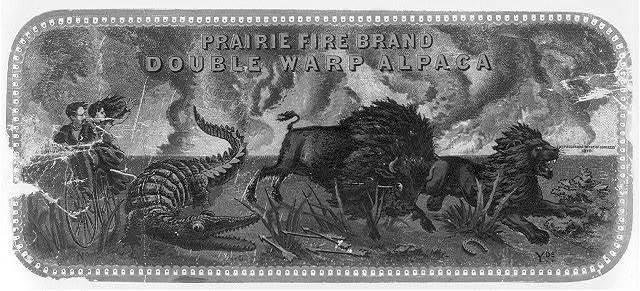 Prairie Fire Brand, Double Warp Alpaca