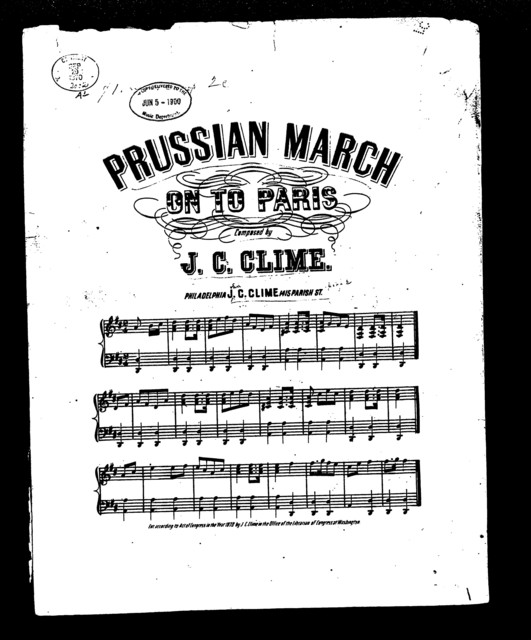 Prussian march on to Paris