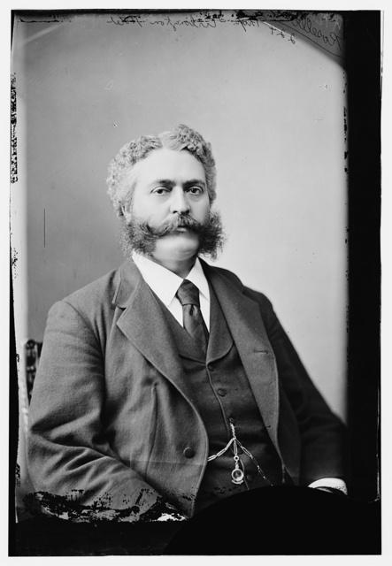 Roselle, T.E., Popular proprietor of the Old Arlington Hotel