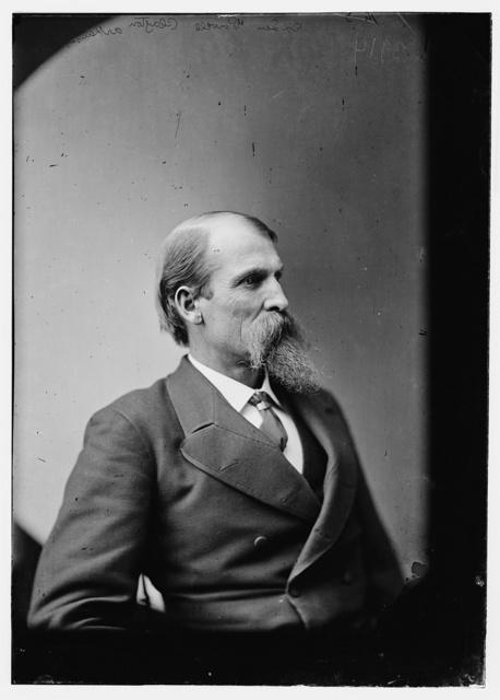 Sen. Powell Clayton of Ark. Born in Del. County, Pa. 1833, Bristol, Pa., City Eng. 1857, Lt. Col. 5th Kan. Cav. 1861, Brig. Gen. 1864, Gov. 1868, Ambassador to Mexico 1898