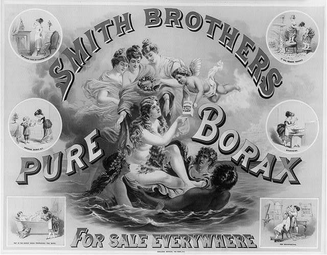 Smith Brothers pure borax for sale everywhere
