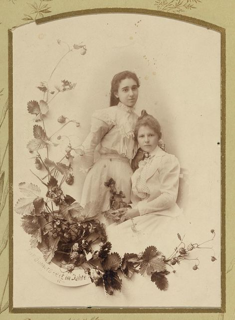 Studio portraits of members of the American Colony (Jerusalem), friends, and associates