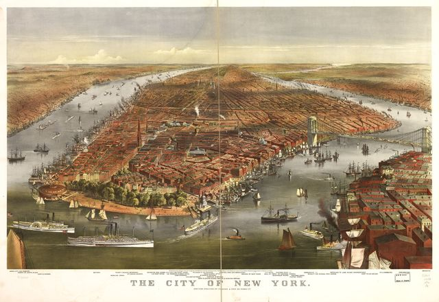 The city of New York.
