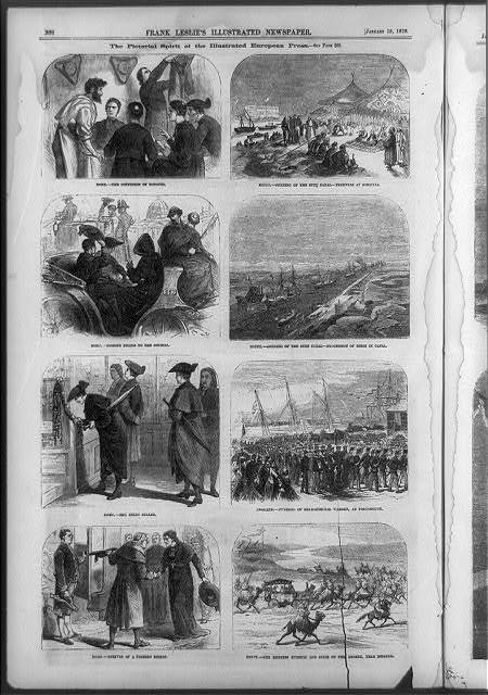 The Pictorial spirit of the Illustrated European Press