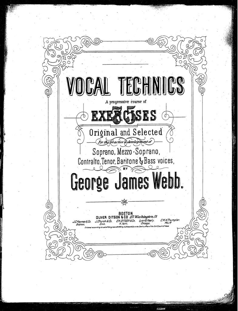 Vocal technics