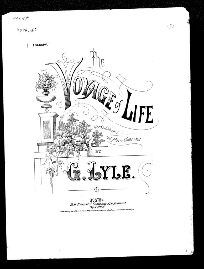 Voyage of life - PICRYL Public Domain Image