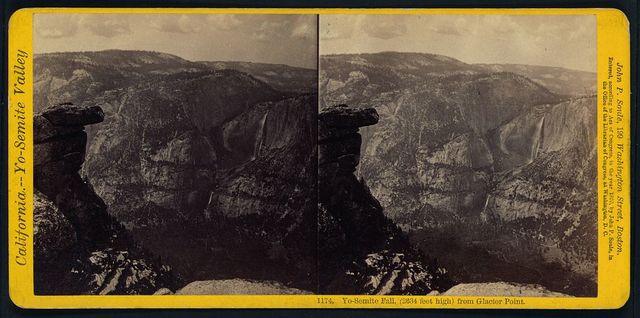 Yo-Semite Fall, (2634 feet high) from Glacier Point