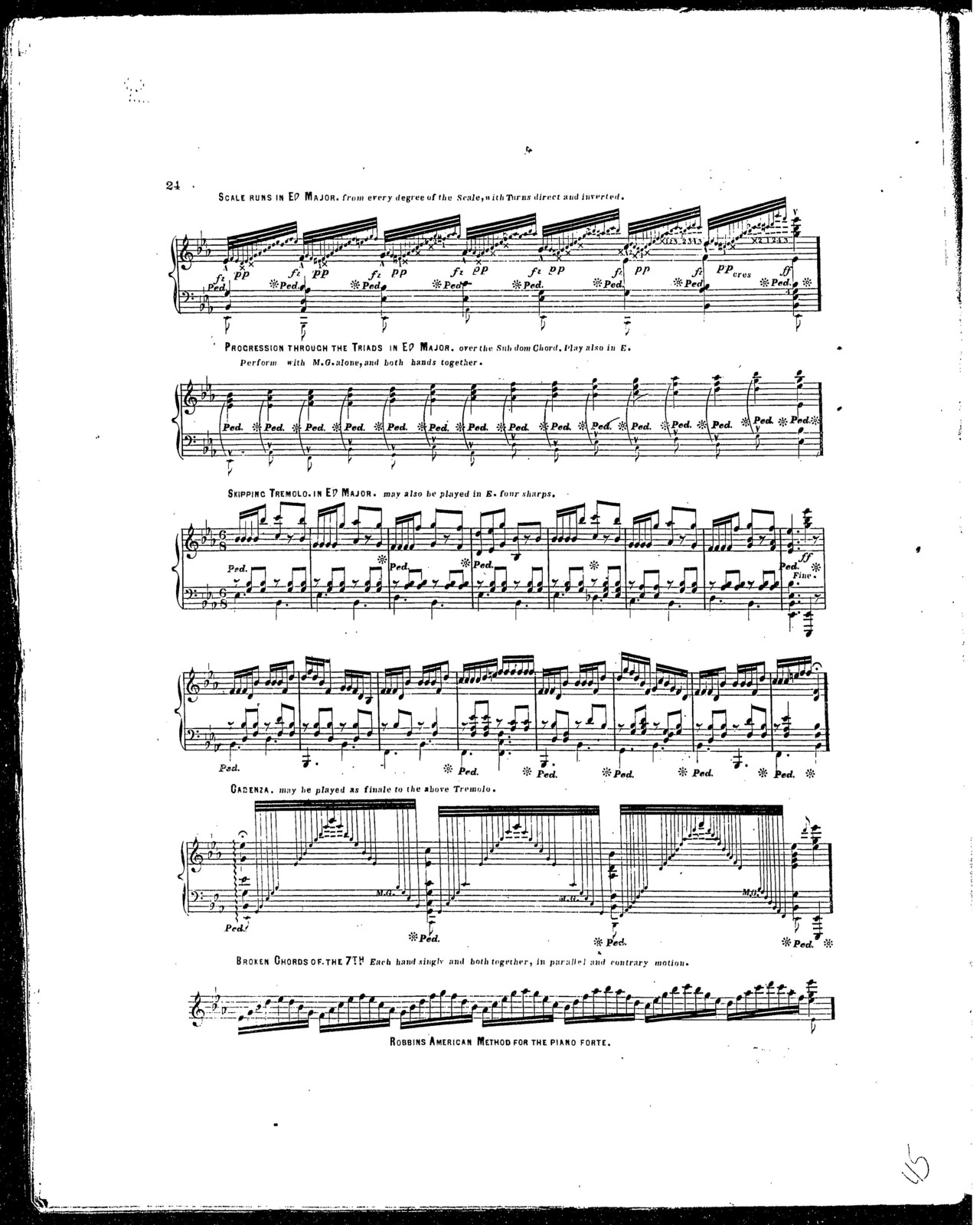 American Method for the piano forte | PICRYL