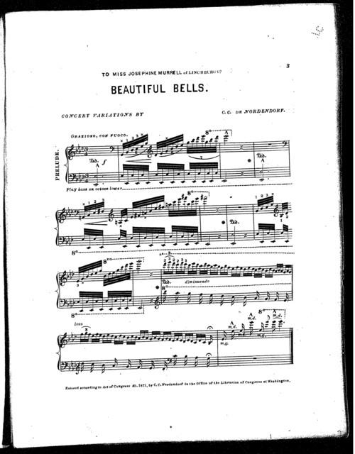 Beautiful bells (Stray leaves)