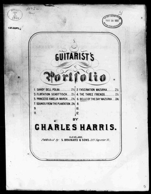 Belle of the day mazurka, The (Guitarist's Portfol