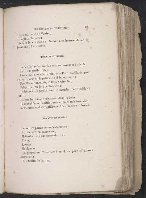 Book of preserves.