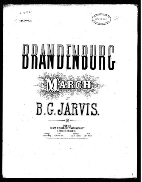 Brandenburg march