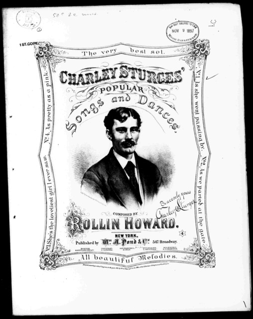Charley Sturges Popular Songs and Dances 1-4