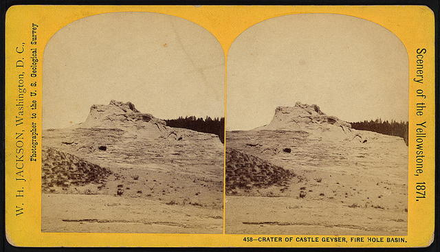 Crater of Castle Geyser, Fire Hole Basin