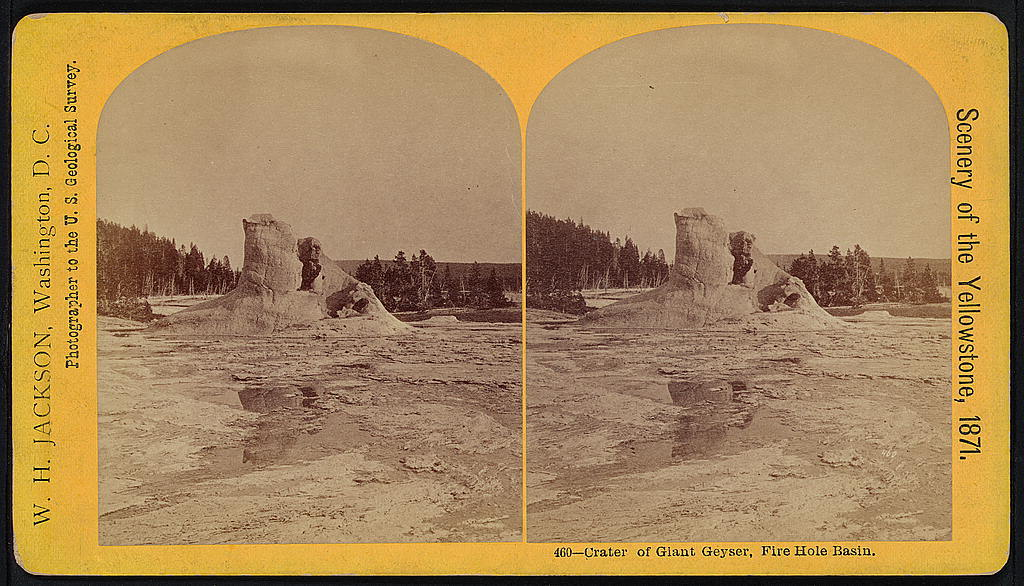 Crater of Giant Geyser, Fire Hole Basin