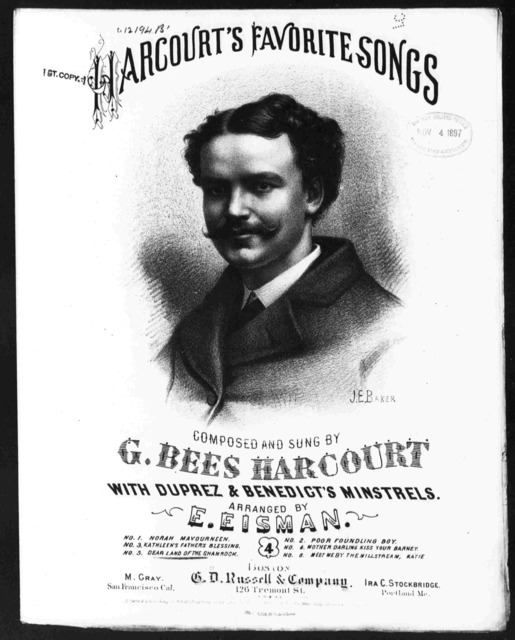 Dear land of the shamrock (Harcourt's favorite songs)