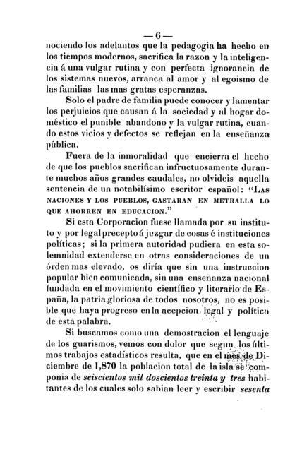 Discurso pronunciado por el excelentisimo señor don Gabriel Baldrich y Palau, gobernador superior civil de la provincia de Puerto-Rico, al inaugurar las sesiones de la Diputacion Provincial, el día 1o. de abril de 1871