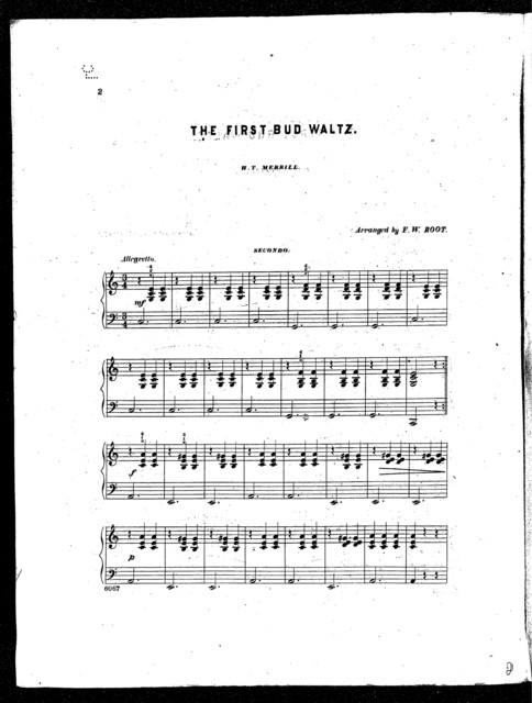 First bud waltz, The (Hand in hand)