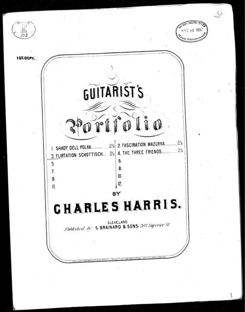Flirtation Schottisch (Guitarist's Portfolio)