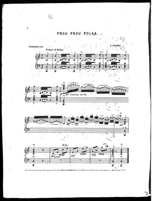 Frou frou polka