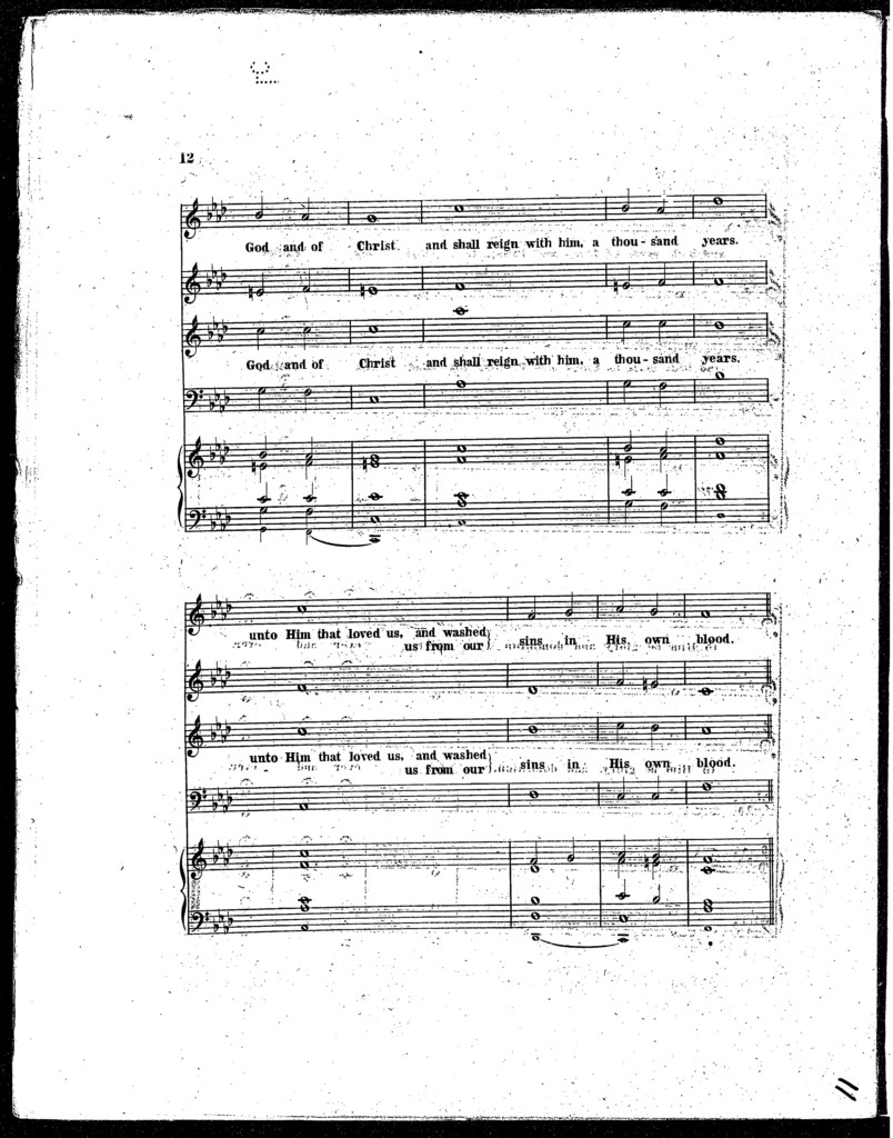 Funeral anthem