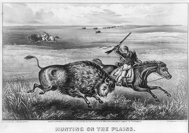 Hunting on the Plains