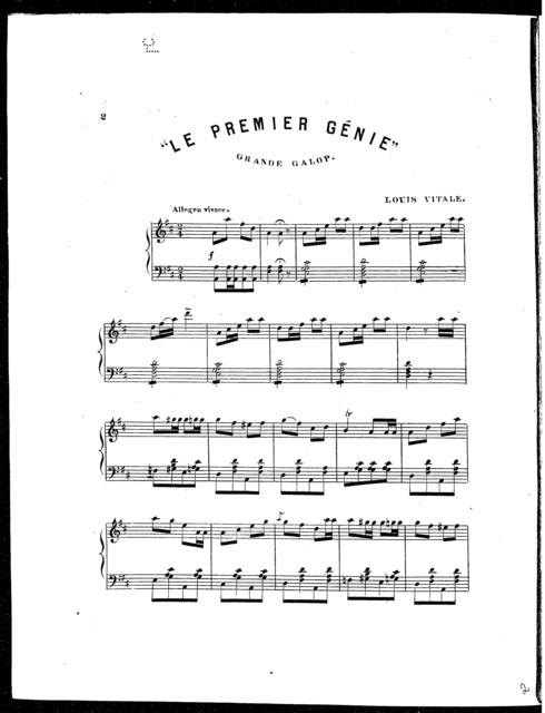 Le  Premier Genie (Musica Italiana)