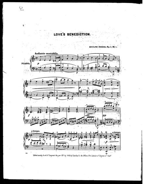 Love's Benediction