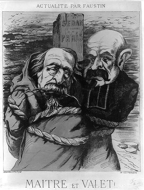 Maitre et valet! / Faustin ; lith. Lemaire et Fils. 61, r. de Clèry.