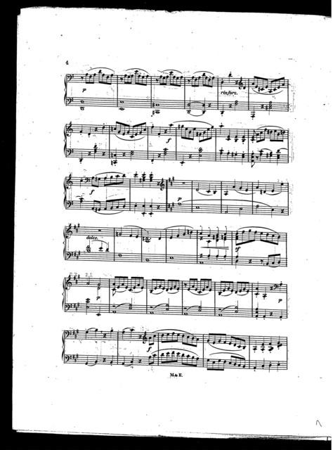 No.3. Pleyel's Duetts - A minor, Violin and Piano