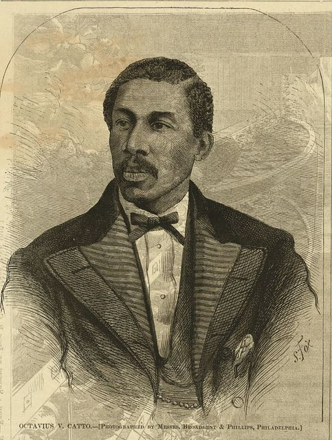 Octavius V. Catto / photographed by Messrs. Broadbent & Phillips, Philadelphia ; S. Fox.