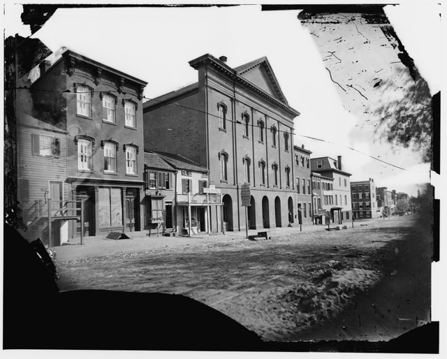 Old Ford's Theatre, 10th St. N.W. Washington D.C. (where Lincoln was shot)