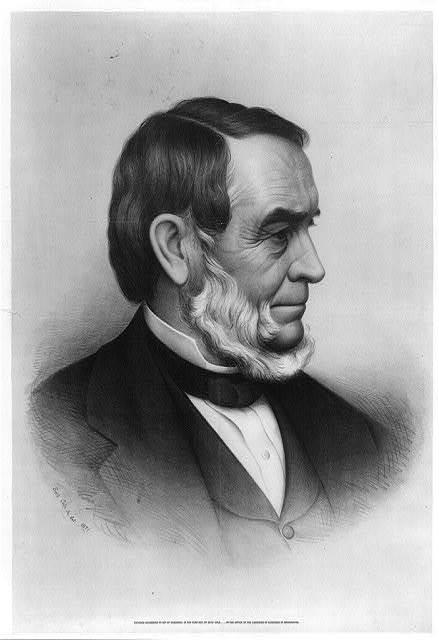 [Rev. Samuel Joseph May, head-and-shoulders portrait, facing right] / Seth Cole Jr. del. 1871.