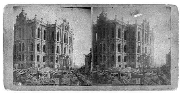 [Ruins after the great fire of Oct. 1871, Chicago - Courthouse]