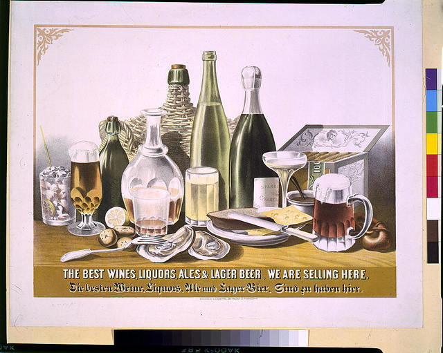 The best wines, liquors, ales & lager beer, we are selling here