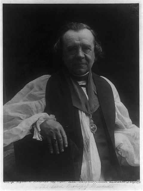 The Lord Bishop of Winchester / from life, registered photograph copyright Julia Margaret Cameron, Freshwater.