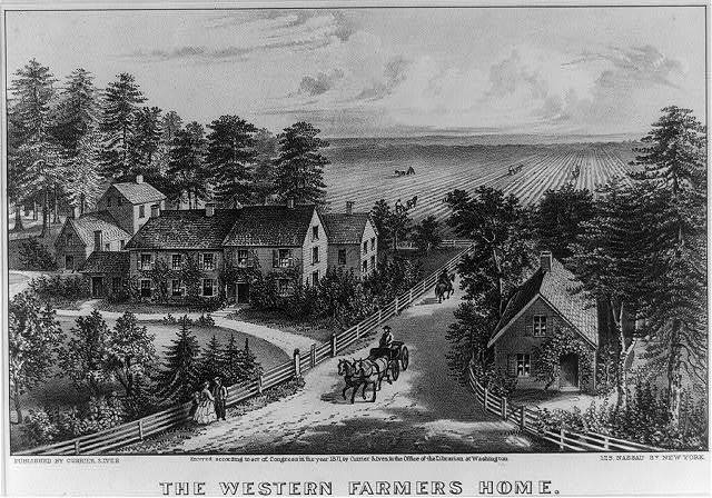 The Western farmers home