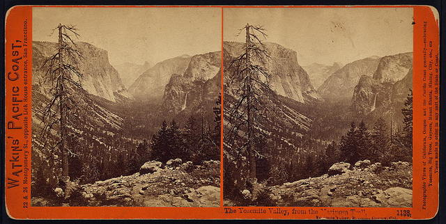 The Yosemite Valley, from the Mariposa Trail, Yosemite Valley, Mariposa County, Cal.