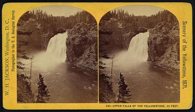 Upper Falls of the Yellowstone, 115 Feet
