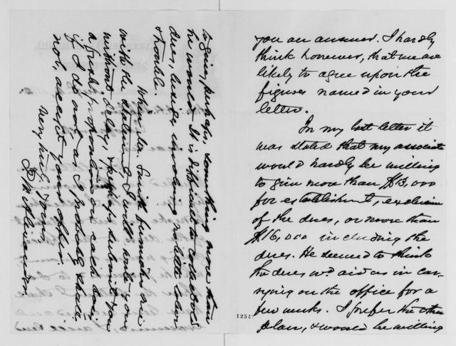 Alexander Hamilton Stephens Papers: General Correspondence, 1784-1886; 1872, Aug. 6-Sept. 23