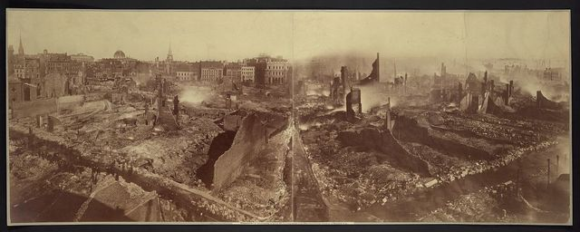 Boston, after the fire, November 9th & 10th, 1872