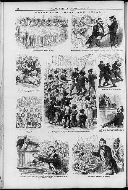 Brigham's trial and trials
