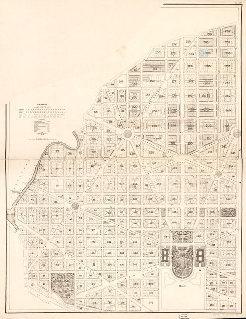 [Cadastral topographical map of part of N.W. Washington D.C.].