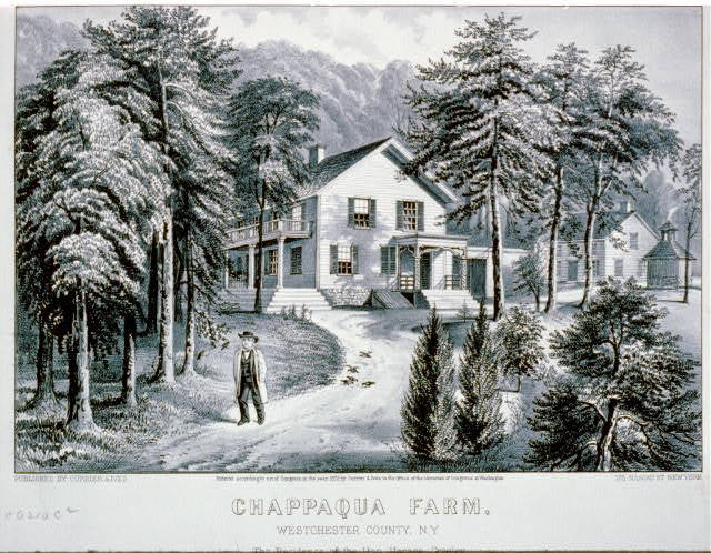 Chappaqua Farm, Westchester County, N.Y.: The residence of the Hon. Horace Greeley
