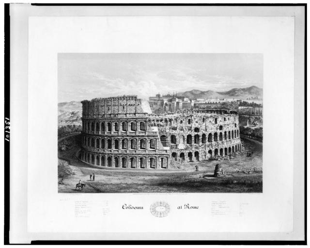 Coliseum at Rome / G. Klucken ; Armstrong & Co., lith.