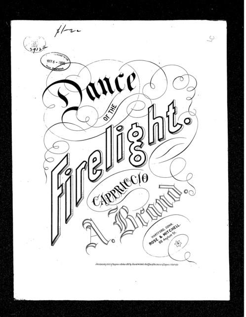 Dance of the firelight