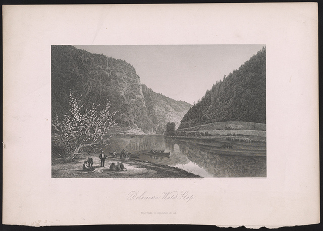 Delaware Water Gap / G. Perkins ; R. Hinshelwood.